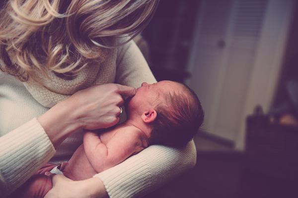 kurtka z wstawką niemowlęcą