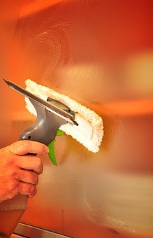 sprzęt do mycia okien